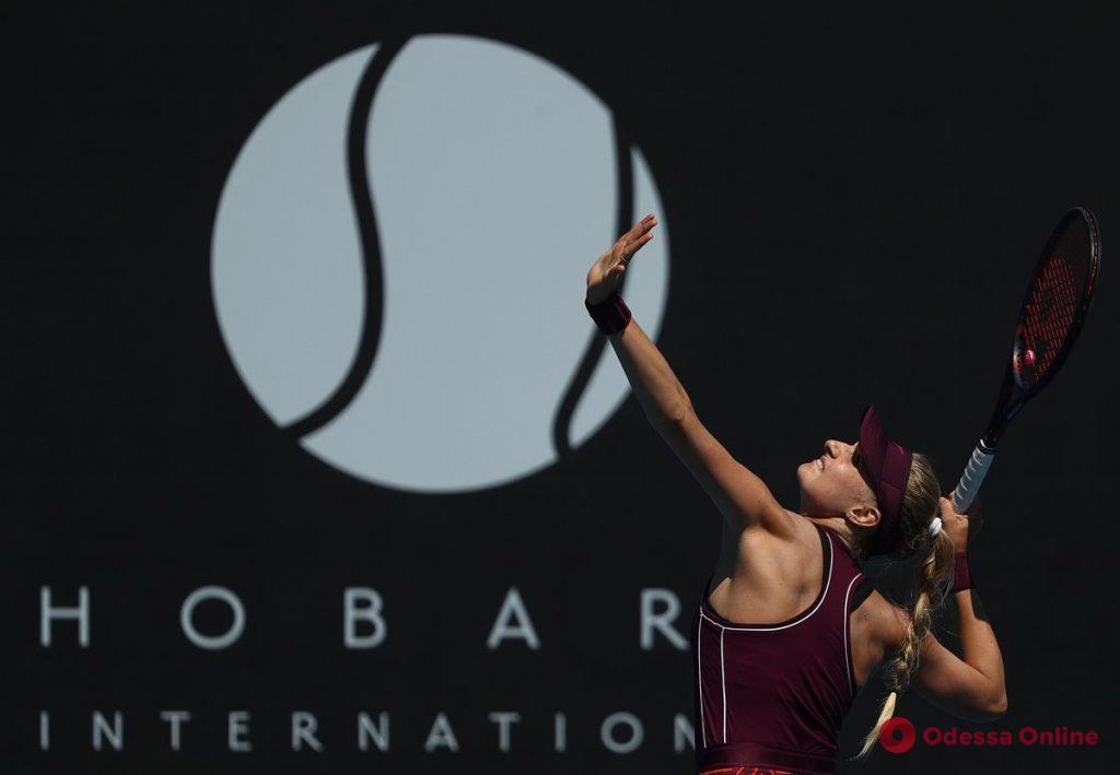 Одесская теннисистка выходит в четвертьфинал турнира в Австралии