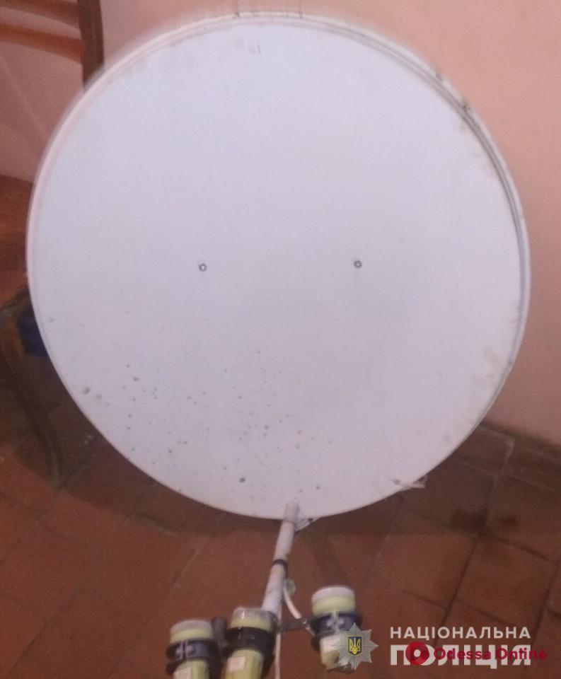 Житель Одесской области попался на краже антенны