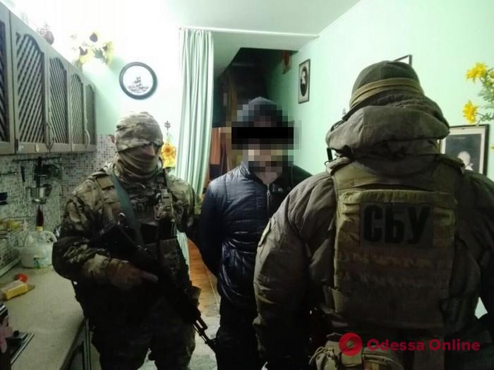 В Одессе задержали пособника террористов