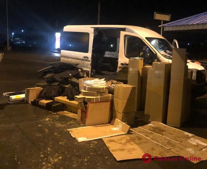 СБУ блокировала незаконную поставку оружия в Одесской области
