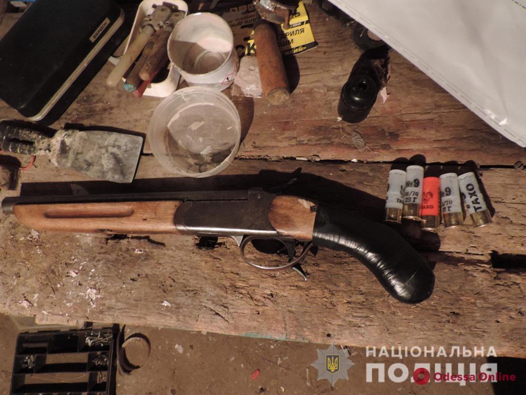Житель Одесской области незаконно хранил ружье «для отпугивания хищных зверей»