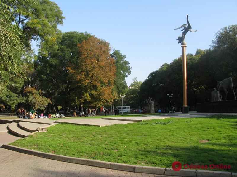 Одесса: Старобазарный сквер готовят к реконструкции