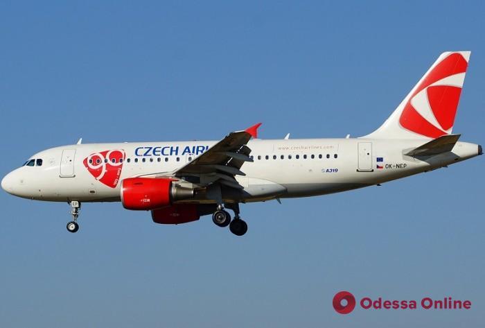 Czech Airlines возобновляет прямые авиарейсы из Одессы в Прагу