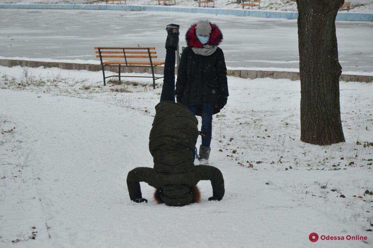 Сказочное рождество в парке Победы (фоторепортаж)