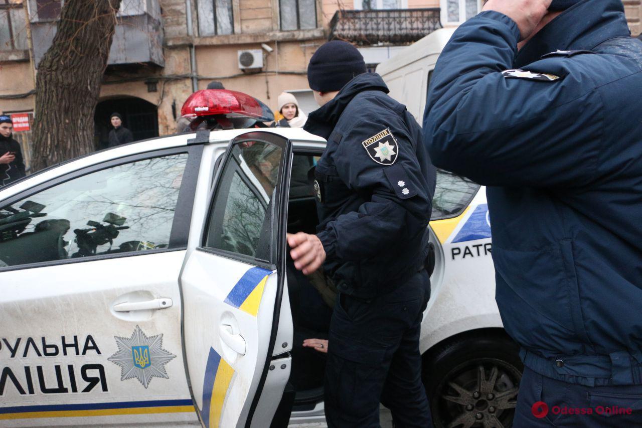 Потасовка на акции у одесского цирка: полиция проведет служебную проверку