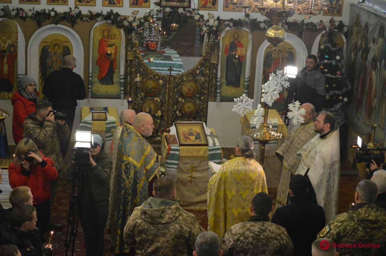 В Одессе прошел молебен за мир в Украине