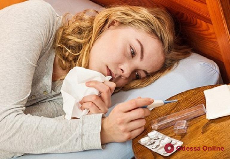 В Одессе снизилась заболеваемость гриппом