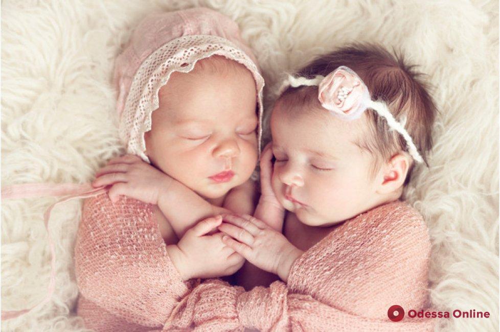 В Одессе стали чаще рождаться двойняшки