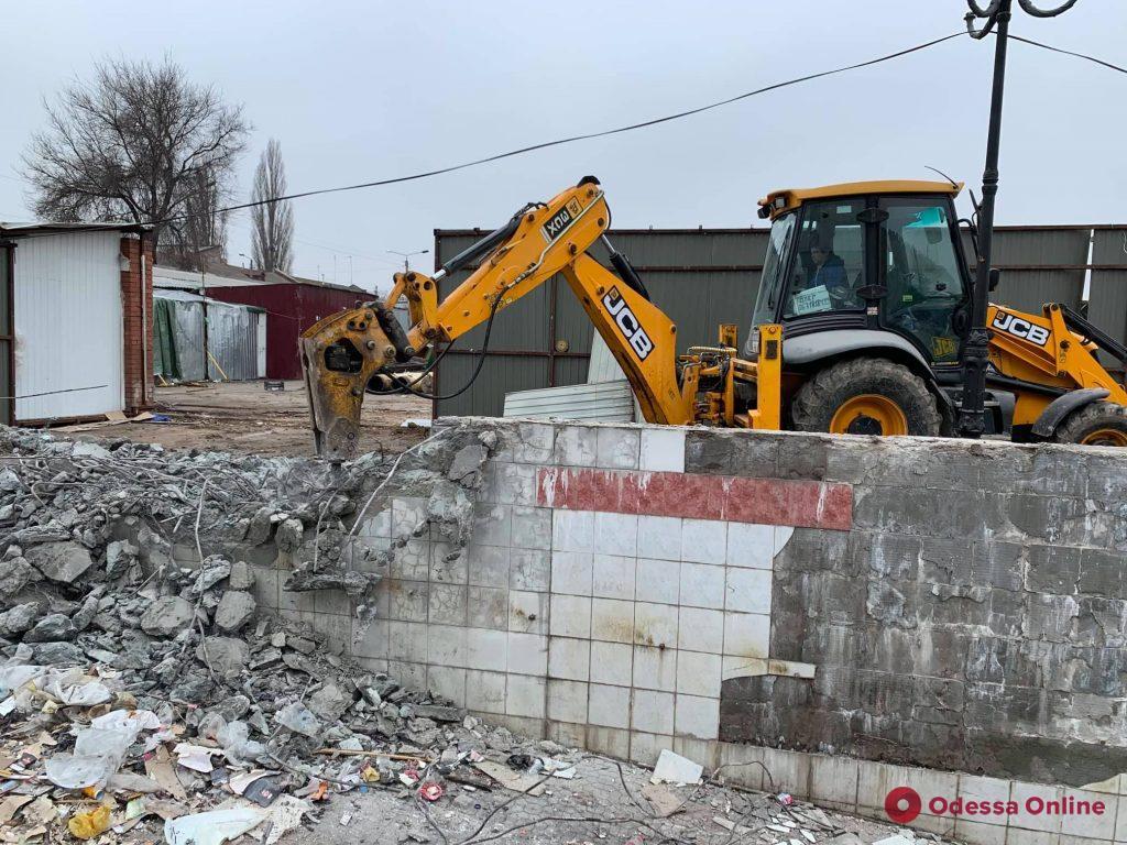 На одесском «Привозе» началась реконструкция