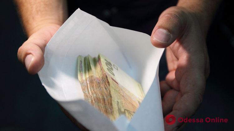 В Одессе на взятке поймали директора госпредприятия