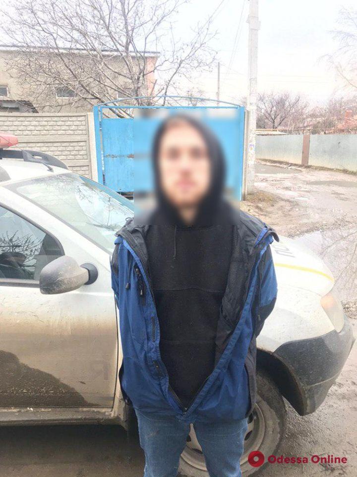 В Одессе «взяли» на горячем закладчика амфетамина