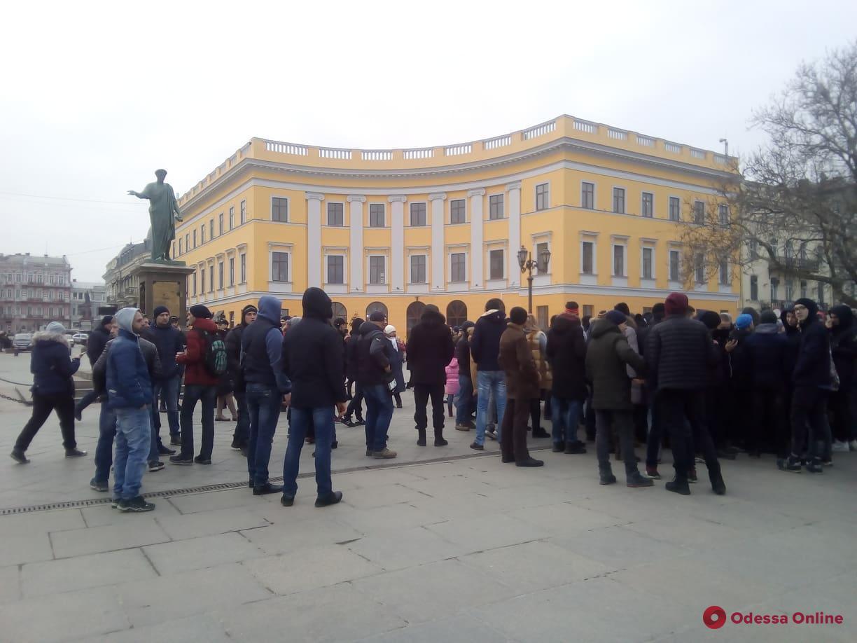 В Одессе разыграли желающих заработать на «предвыборном митинге» (видео)