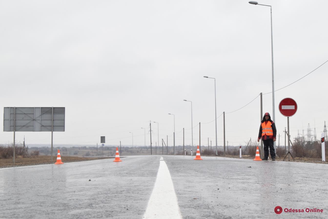 Петр Порошенко открыл объездную дорогу вокруг Рени