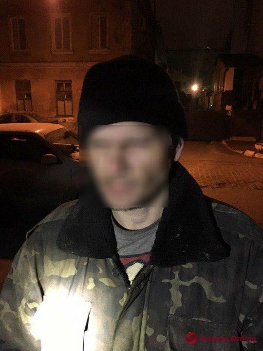 В центре Одессы поймали кабельных воров