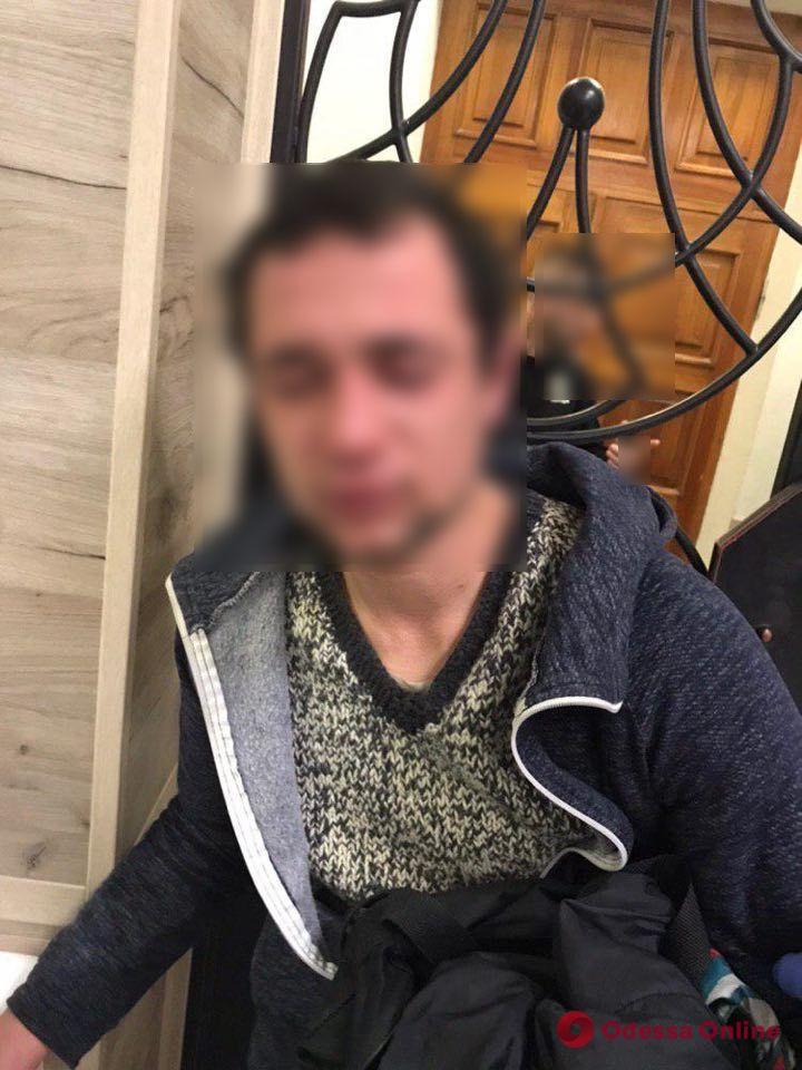 В Одессе оперативно задержали грабителя