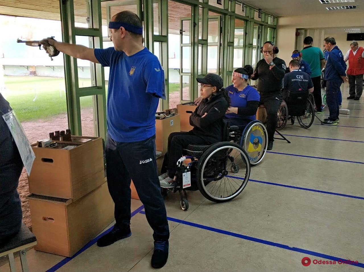 Одесские паралимпийцы завоевали «урожай» медалей Кубка мира по пулевой стрельбе