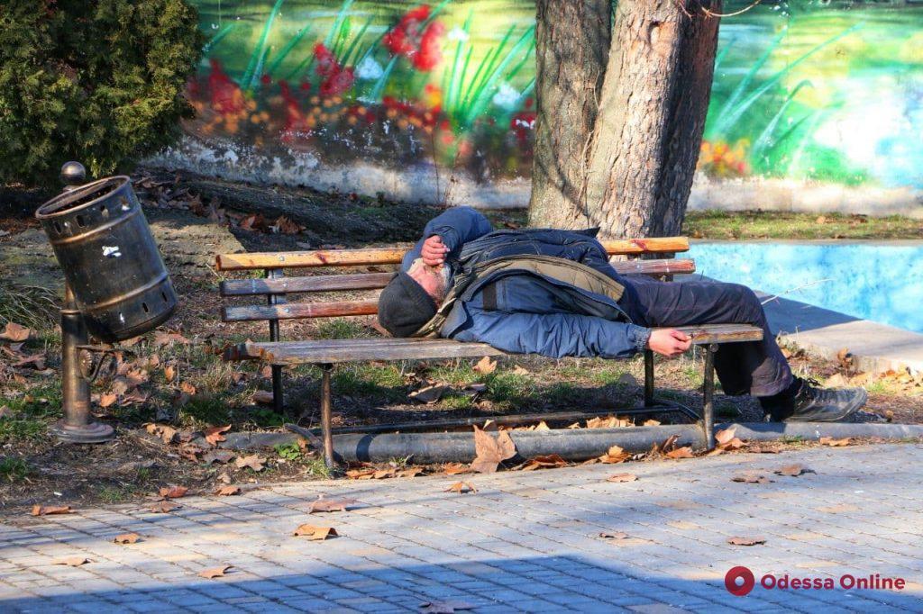 Солнечный парк Победы в последний день зимы (фоторепортаж)