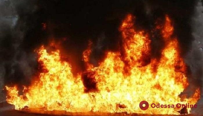 Под Одессой при пожаре погиб мужчина