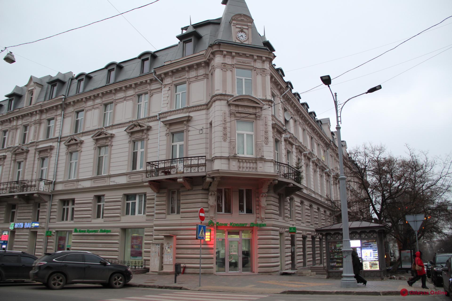 В Одессе презентовали книгу о старинном доме на Дерибасовской