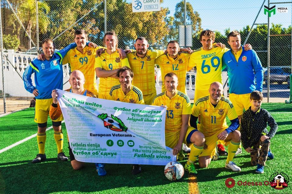 Одесситы достойно выступили в международном турнире по футболу 8х8 в Испании
