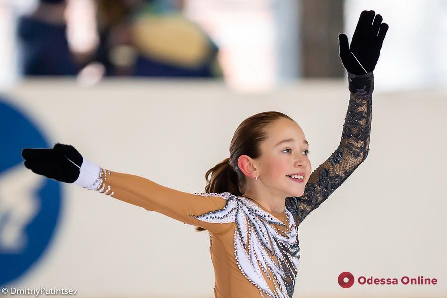 Представители Одессы завоевали восемь медалей всеукраинского турнира по фигурному катанию