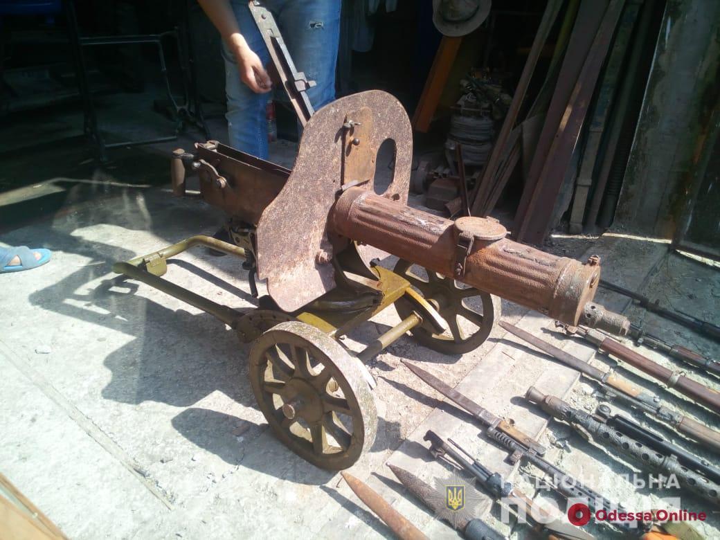 «Коллекционер» оружия из Одесской области получил условный срок