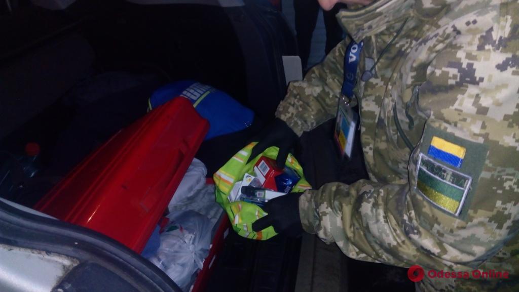 Одесская область: через границу пытались незаконно провезти «психотропы»