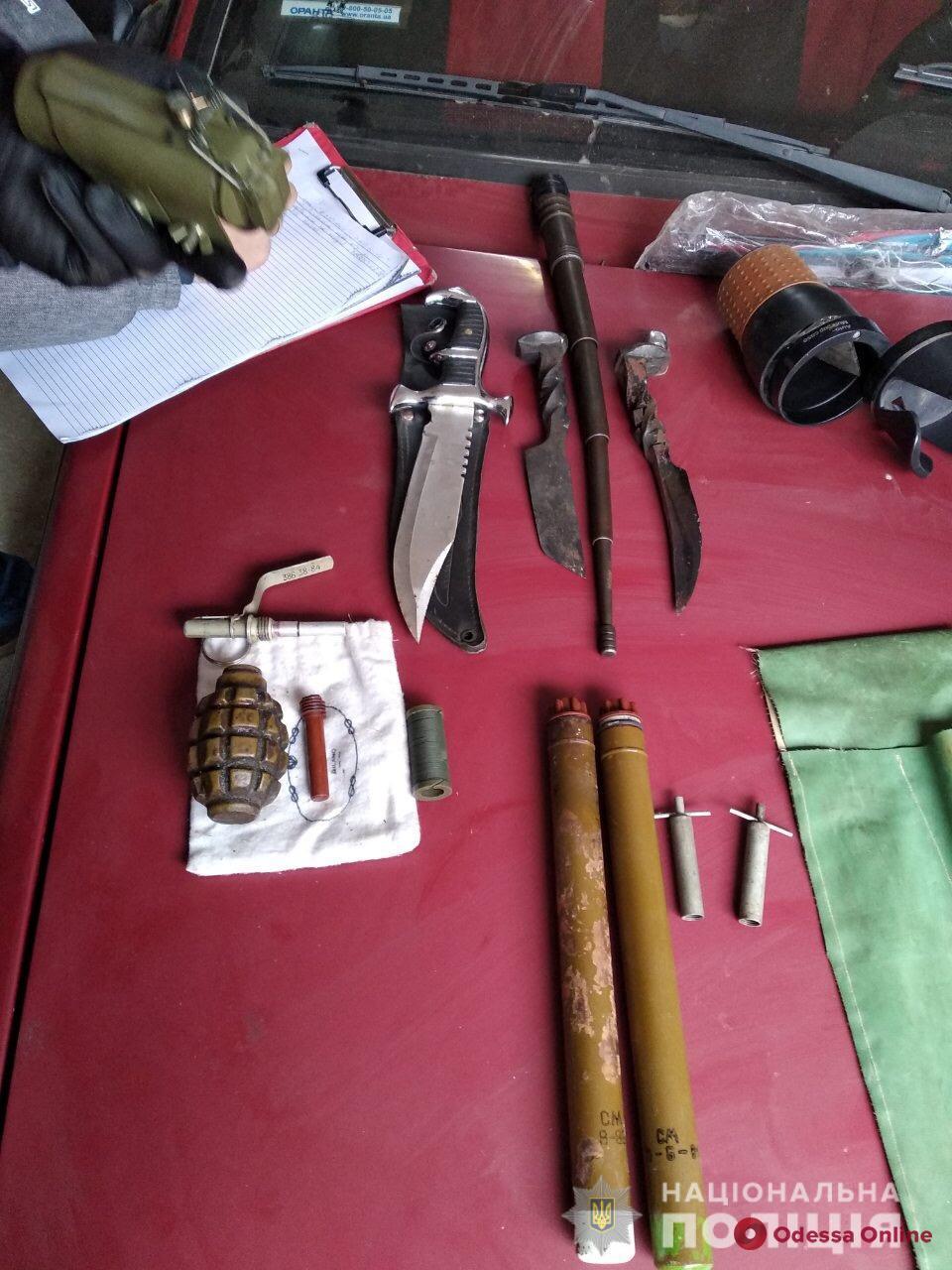 У жителя Одесской области нашли боеприпасы и наркотики