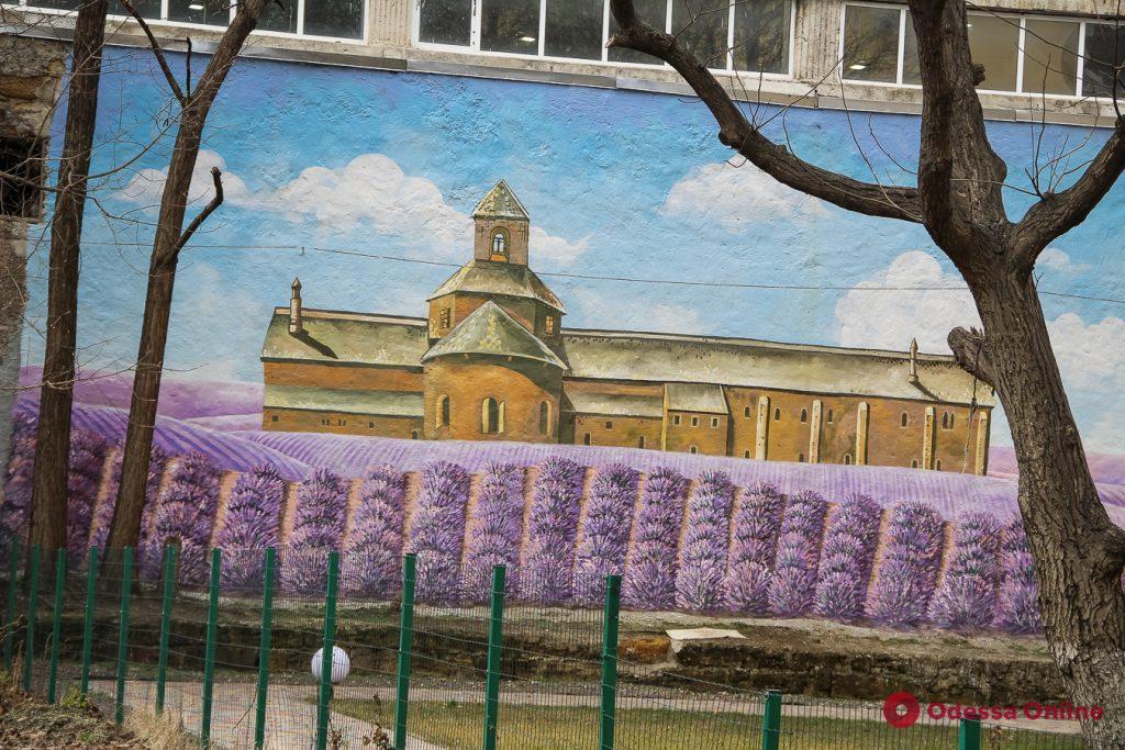 Лавандовое поле, море и животные: разнообразие одесских муралов (фоторепортаж)