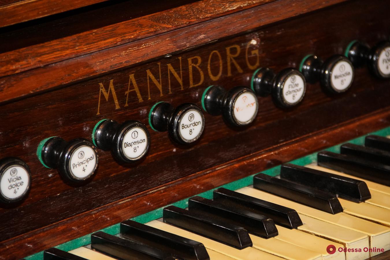Одесский музей восстановил старинный музыкальный инструмент