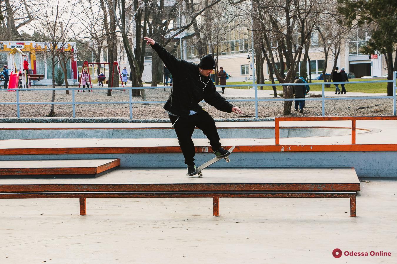 Февральский день в парке Шевченко (фоторепортаж)
