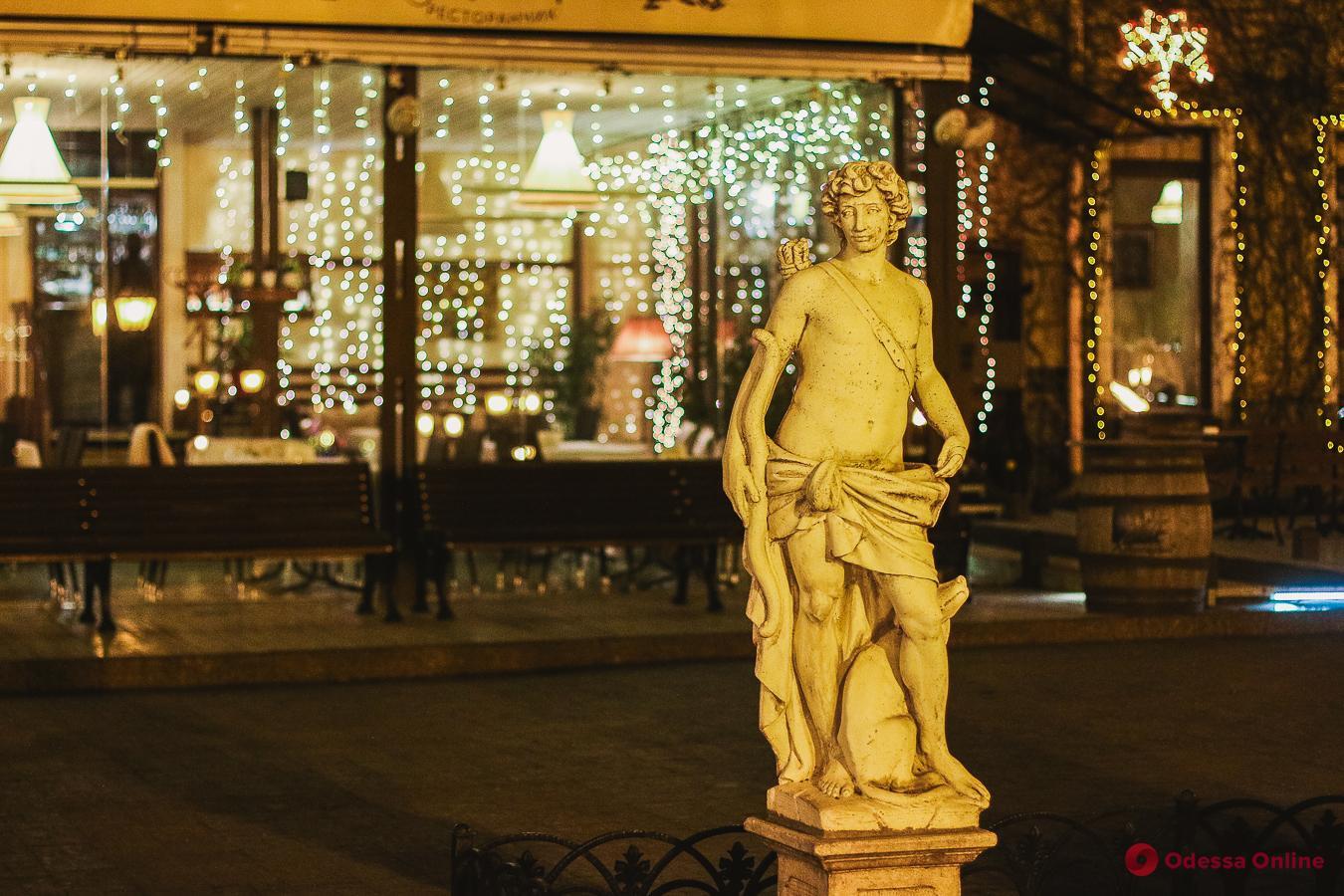 Ночная зимняя Одесса (фоторепортаж)
