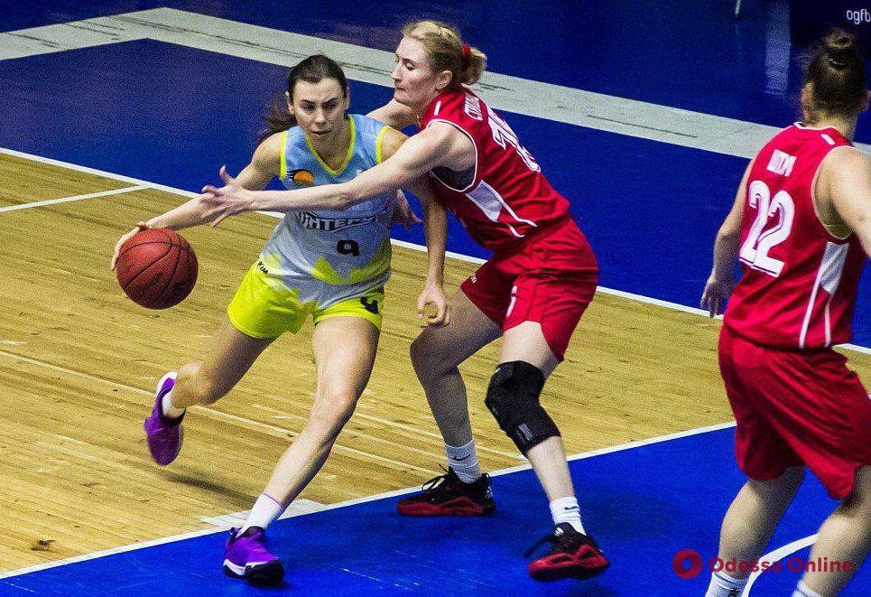 Одесские баскетболистки с боями одолели «Козачку»