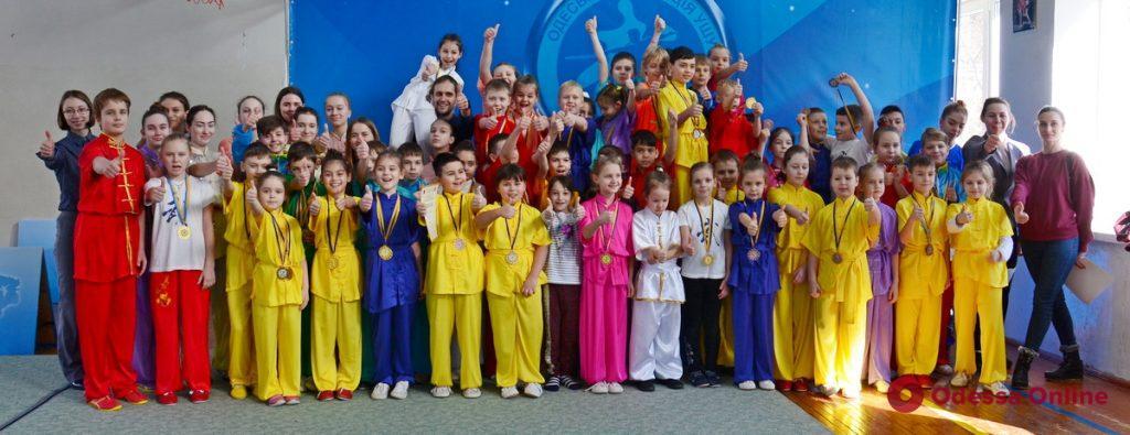 В Одессе прошел турнир по спортивному ушу для самых маленьких