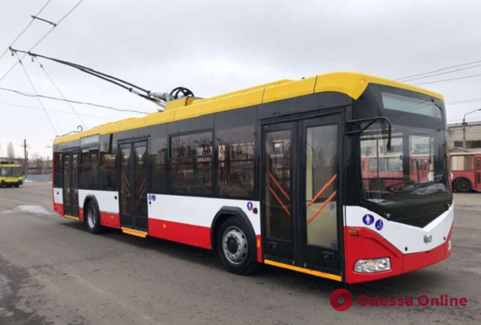 В Одессе возобновлено движение троллейбуса №2