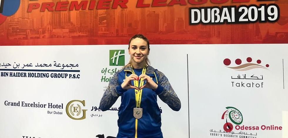Каратэ: одесситка завоевала «серебро» престижнейшего турнира в Дубае