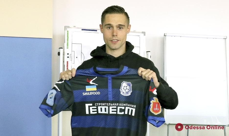 «Черноморец» пополнился первым в истории Премьер-лиги футболистом из Исландии