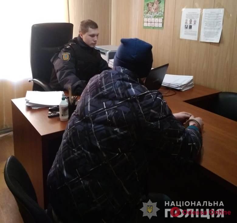 Разыскивался Интерполом: одесские полицейские задержали иностранного наркодельца
