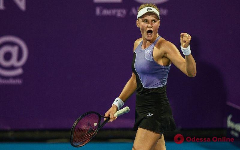Теннис: 19-летняя одесситка сыграет в финале супертурнира в Пекине
