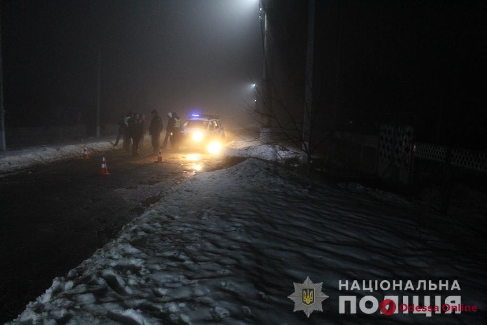 В Одесской области водитель мотоцикла сбил насмерть пешехода