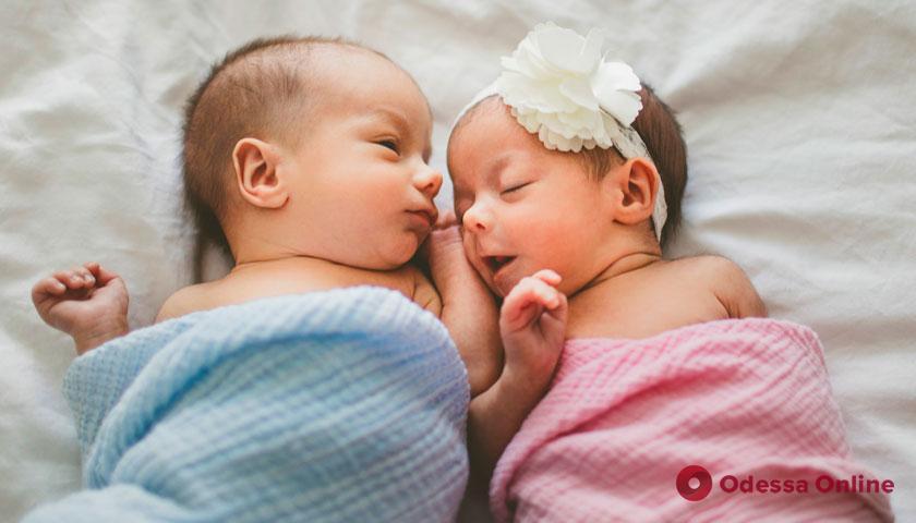 В Одессе на минувшей неделе родились четыре двойни