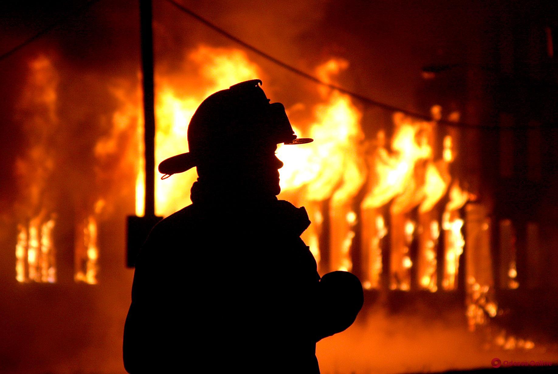 В Одесской области сгорел жилой дом