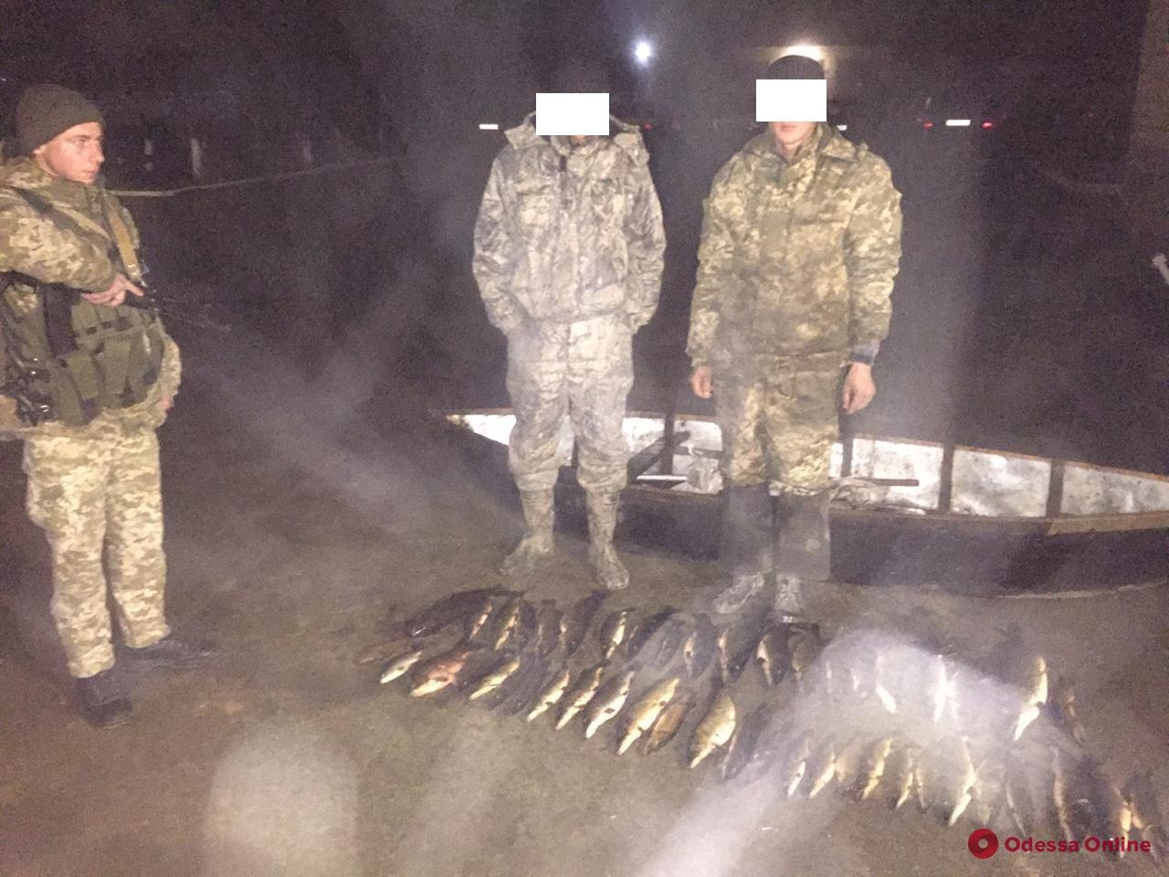 Одесская область: на Дунае поймали очередных браконьеров