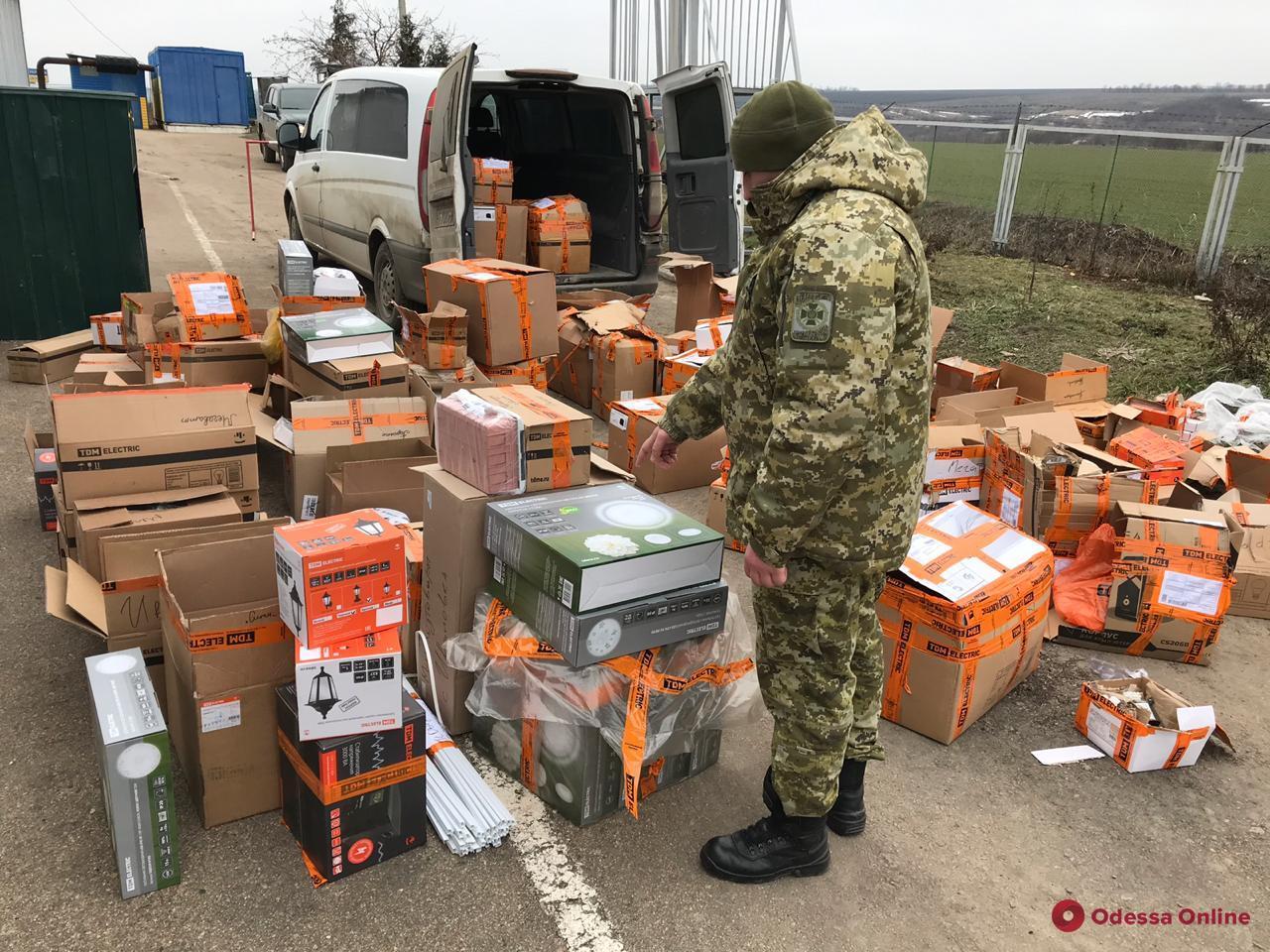 В Одесской области задержали груз контрабандных электроприборов