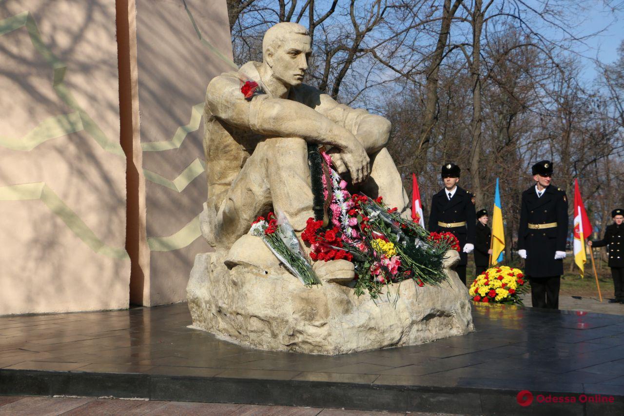 Одесситы почтили память воинов-интернационалистов