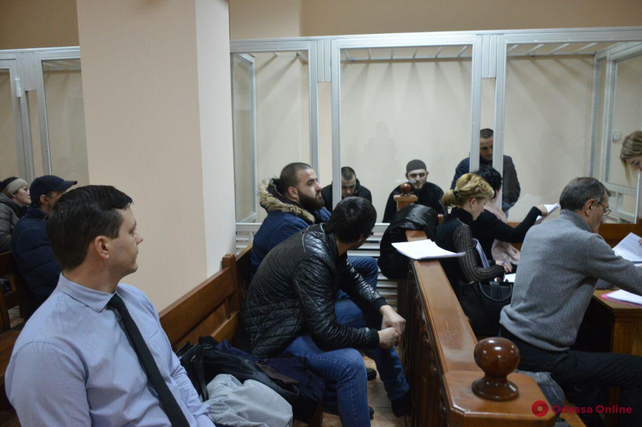 Нападение на инкассаторов в Одессе: четверо из пяти подозреваемых остались в СИЗО