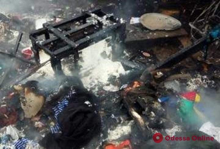 В Одесской области сгорели жилой дом и гараж