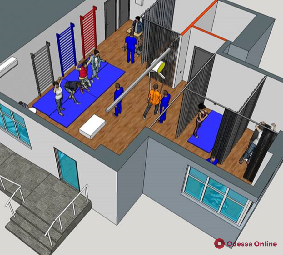 В Одессе открылся тренажерный зал для людей с нарушениями физической активности