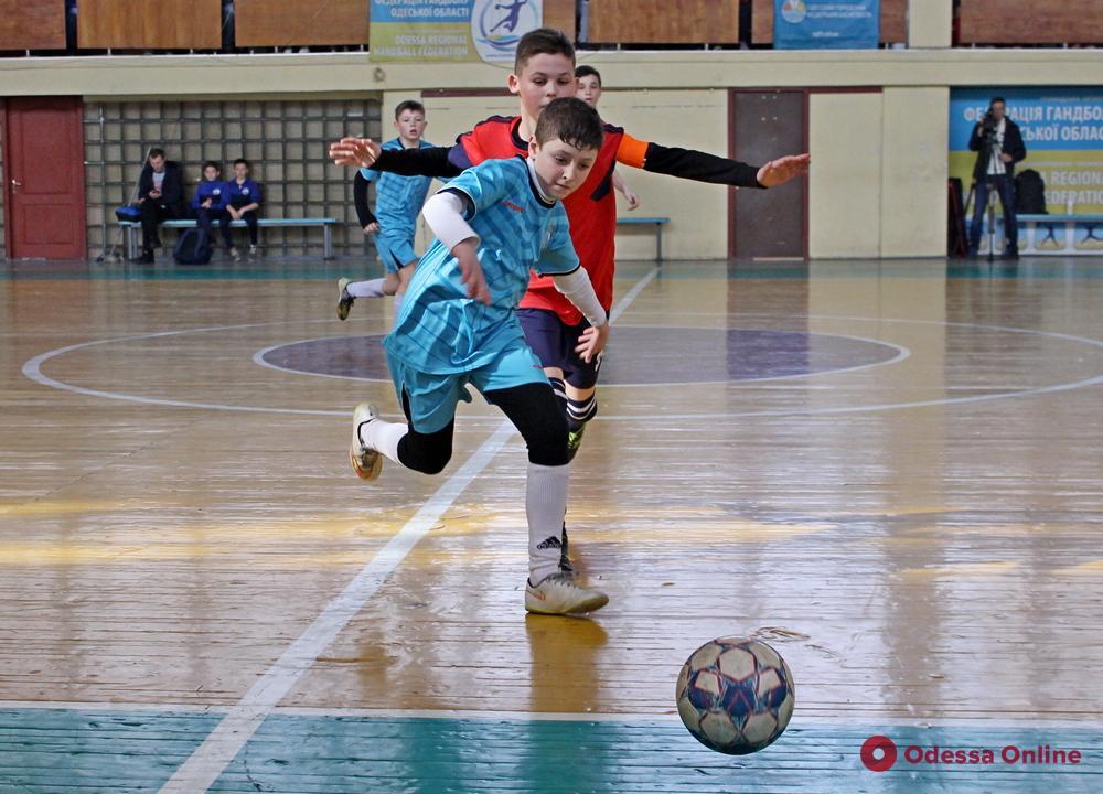 В Одессе финишировал чемпионат города по футзалу среди детей