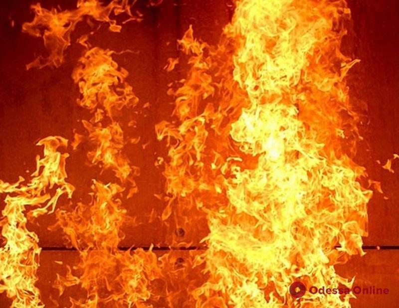В Одесской области при пожаре пострадала пенсионерка